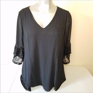 Deep V Torrid blouse